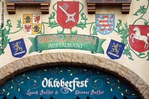 Biergarten Restaurant, Germany in Epcot World Showcase