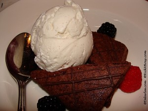 Gluten-Free Brownie & Ice Cream