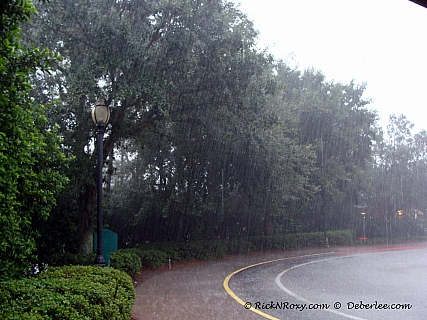 Raining at Port Orleans September 1