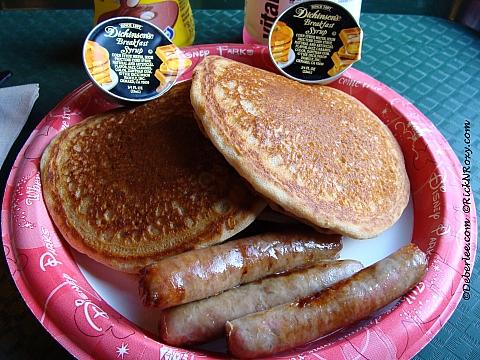 Gluten-Free Pancakes & Sausage