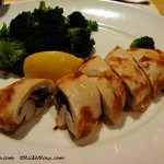 Gluten-Free Baked Stuffed Chicken with Broccoli