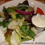 Gluten-Free House Salad with Ranch Dressing
