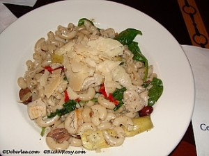 Penne Pasta with Grilled Chicken